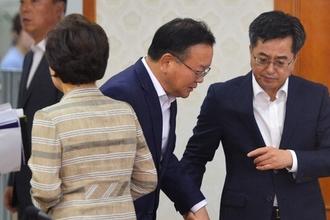 김부겸 장관 '증세의지 후퇴' 재정 당국에 문제제기