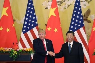 """""""트럼프, 정작 중국에선 할 말 못했다""""...CNN·BBC 보도"""