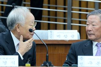 朴재판에 구본무·손경식·김승연·허창수 '회장님'들 총출동