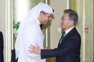 세일즈 외교 文대통령, UAE에 사우디 원전수주 협력 확인