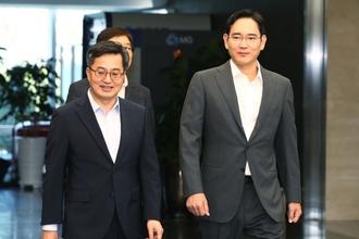 """김동연 """"삼성전자, 스마트팩토리 지원 3차 협력사까지 확대할 것"""""""