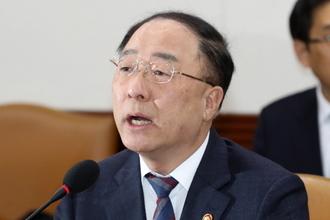 """홍남기 """"상반기 6조 규모 해외 수주 금융 공급 개시"""""""