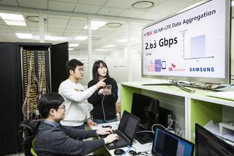 SK텔레콤, '갤럭시S10 5G'로 국내 최고속도 2.7Gbps 구현