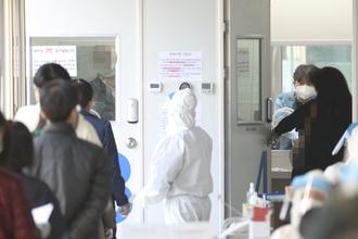 신규확진 551명, 국내 537명…지역감염 41일 만에 500명대