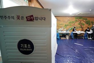 4·7 재보궐 오후 1시 투표율 38.3…서울 40.6 부산 35.5