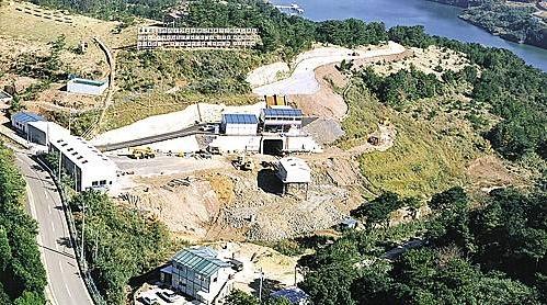 日本佐賀県取るブーツの韓日海底トンネル調査斜坑現場/ニューシス